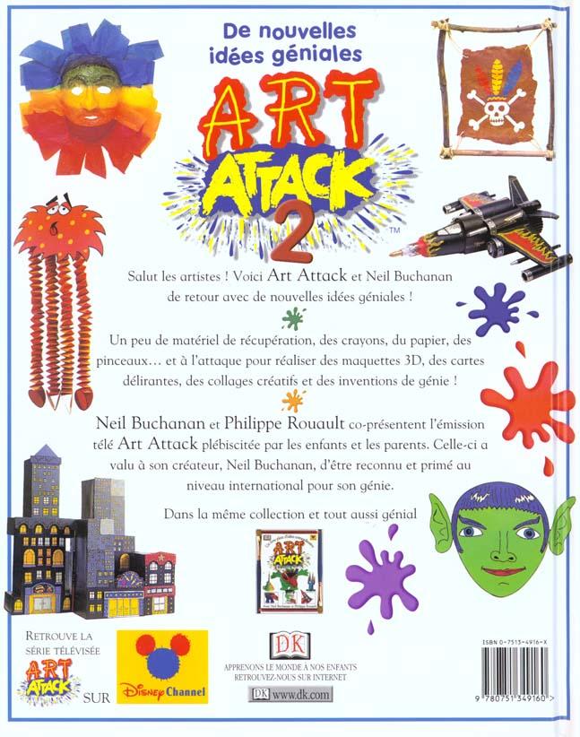 Art attack t.2 ; de nouvelles idees geniales