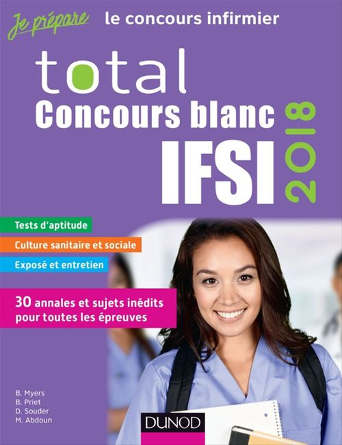 Total concours blancs  IFSI (édition 2018)