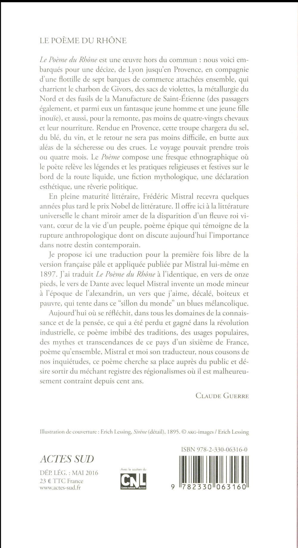 Le poème du Rhône