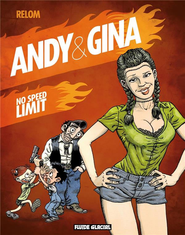 Andy et Gina t.5 ; no speed limit