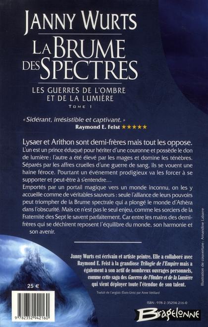 Les guerres de l'ombre et de la lumière t.1 ; la brume des spectres
