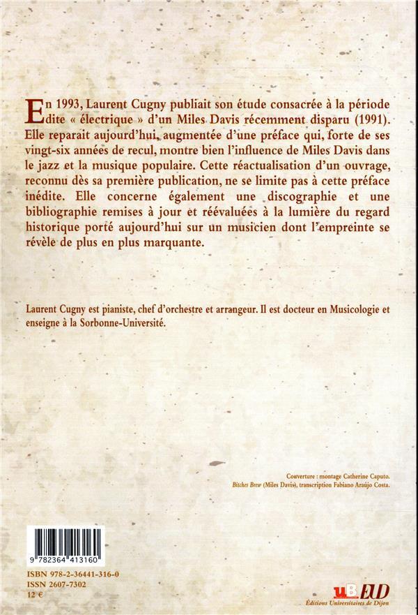 Electrique: Miles Davis, 1968-1975 (Laurent Cugny) 9782364413160_4_75
