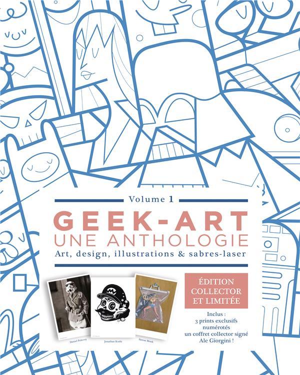 Geek-art, une anthologie t.1 ; coffret