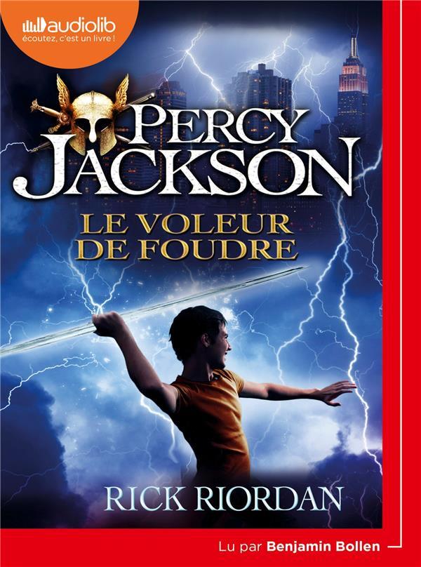 Percy Jackson T.1 ; Percy Jackson t.1 ; le voleur de foudre