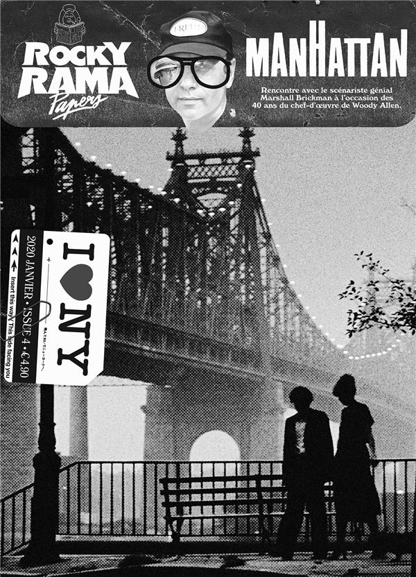 ROCKYRAMA HORS-SERIE  -  PAPERS 4  -  MANHATTAN