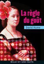 Vente Livre Numérique : La Règle du goût  - David HUME