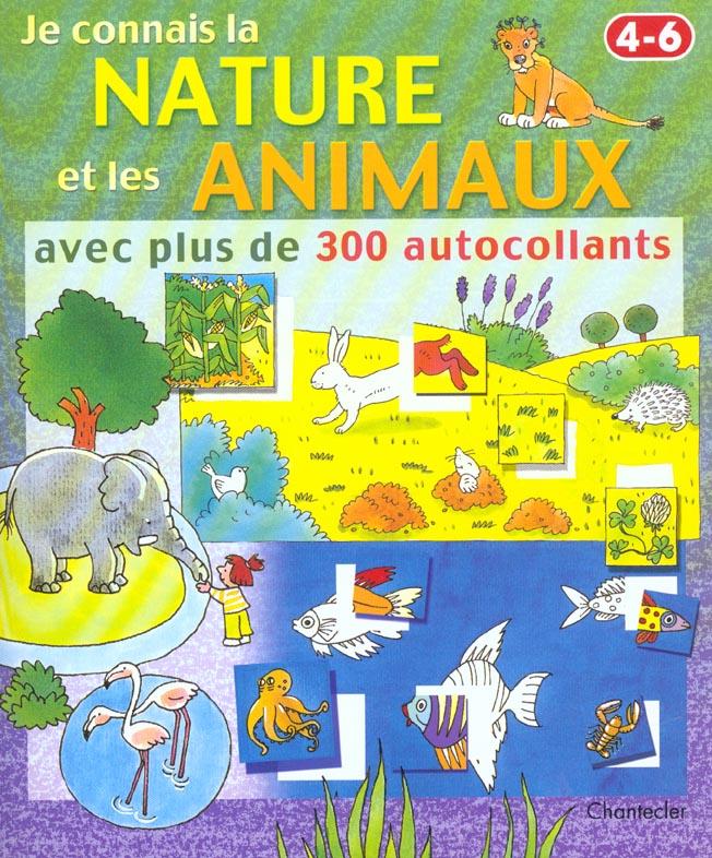 Je connais la nature et les animaux (4-6 a.)