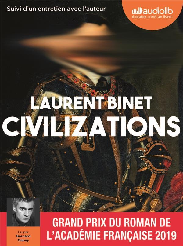 Civilizations ; entretien avec l'auteur