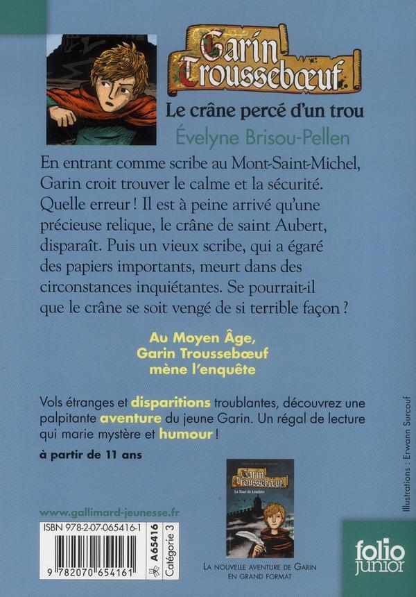 Garin Trousseboeuf t.9 ; le crâne percé d'un trou