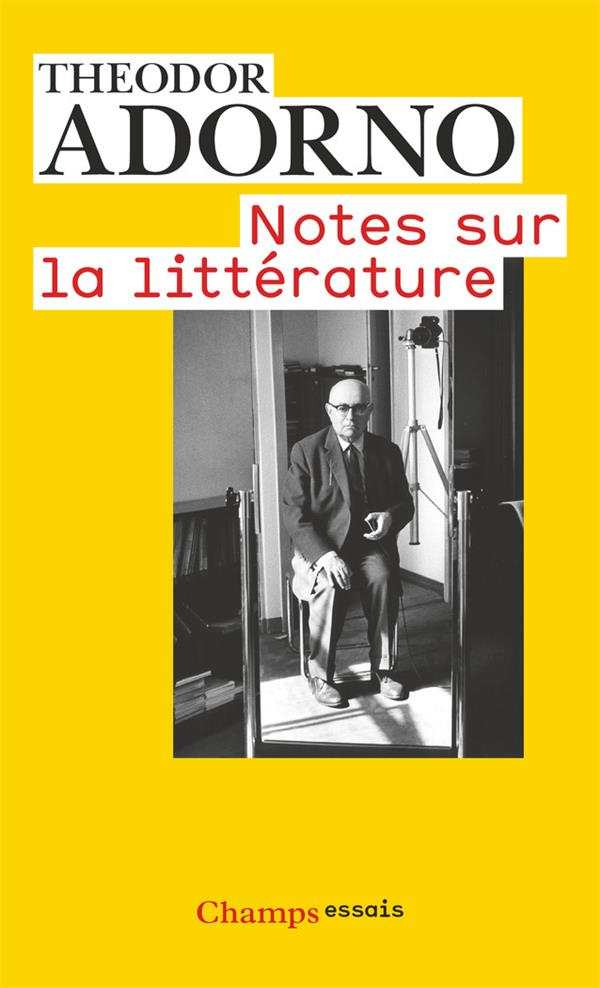 Notes sur la littérature