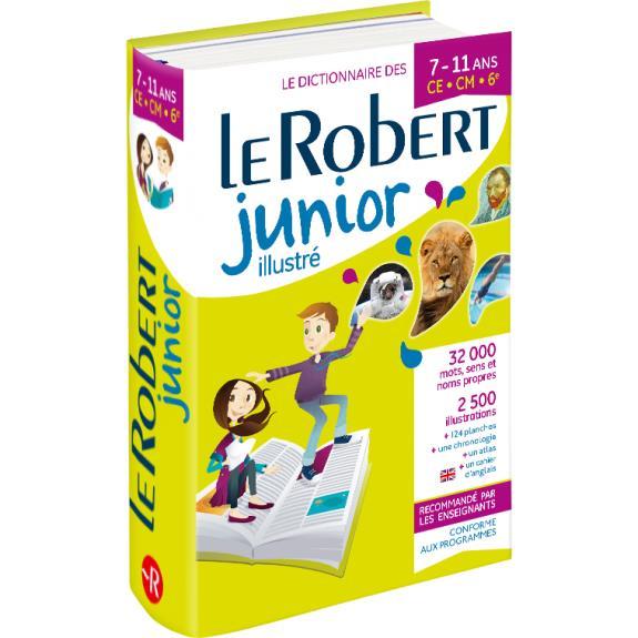 Dictionnaire le Robert junior illustré ; 7/11 ans