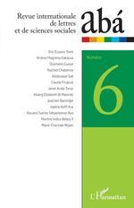 Revue internationale de lettres et de sciences sociales abá n°6  - Revue Internationale De Lettres Et De Sciences Sociales