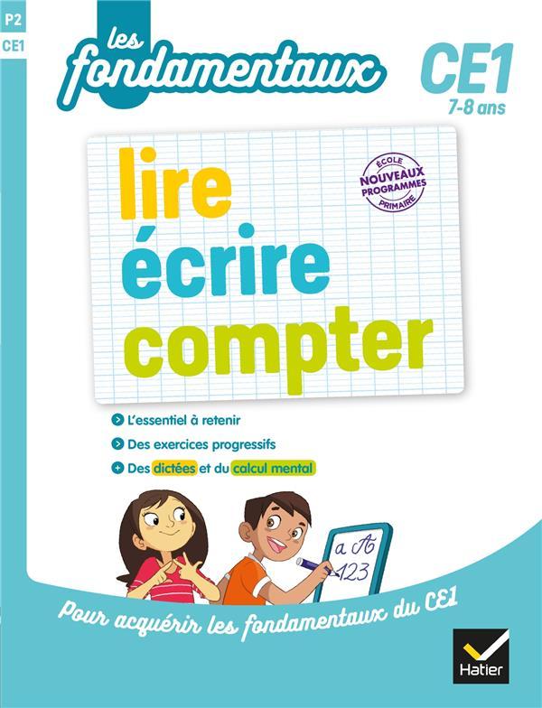 Lire, écrire, compter ; CE1
