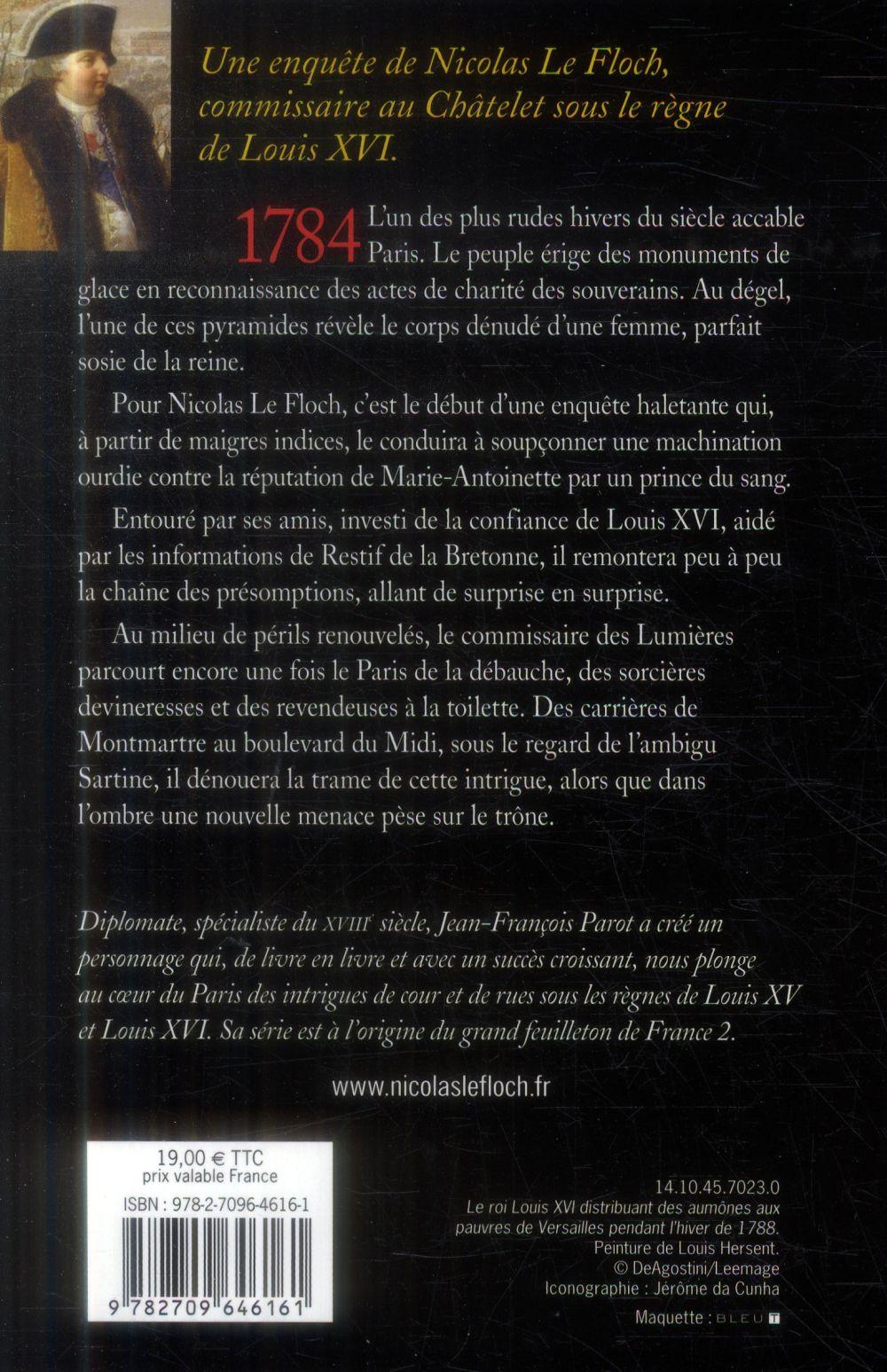 Les enquêtes de Nicolas Le Floch T.12 ; la pyramide de glace
