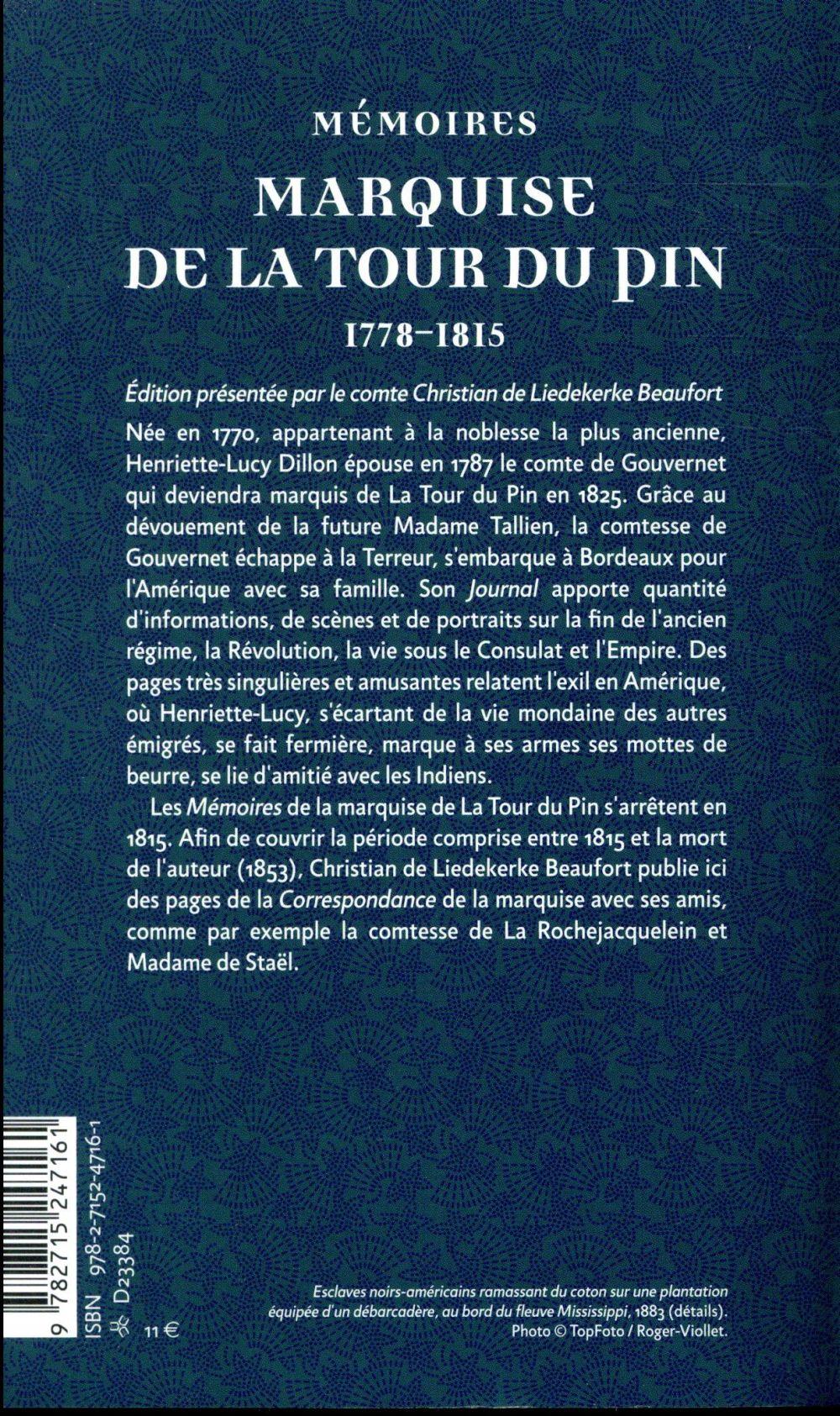 Mémoires / correspondance (1815-1846) [extraits inedits]