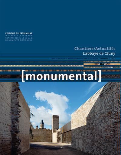 MONUMENTAL n.2012/2 ; chantiers/actualités ; l'abbaye de Cluny