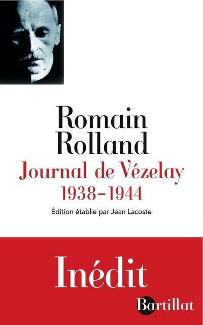 Journal De Vezelay 1938-1944