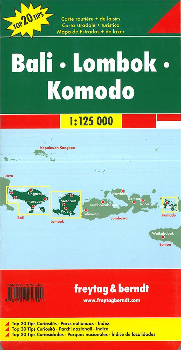 Bali, Lombok, Komodo
