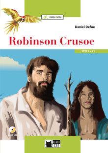 Robinson Crusoe + CD-Rom - A2 New Edition/ Green Apple