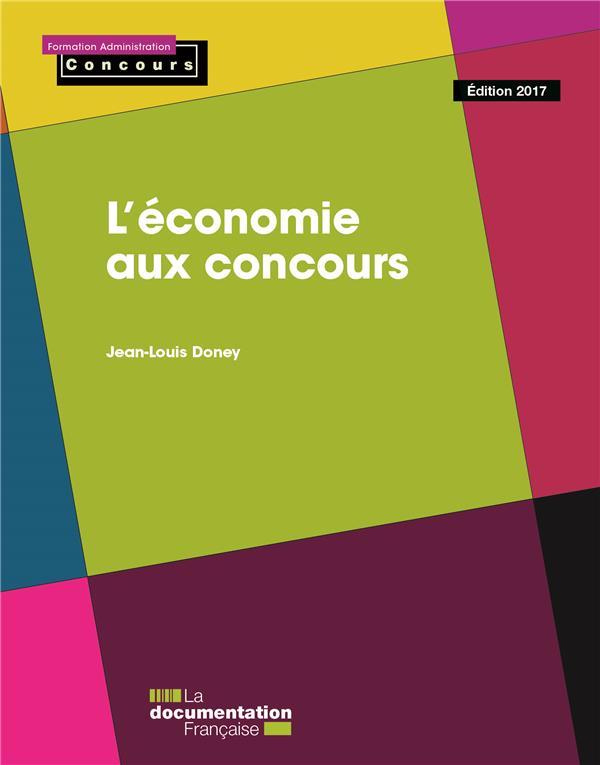 L'économie aux concours ; édition 2016-2017