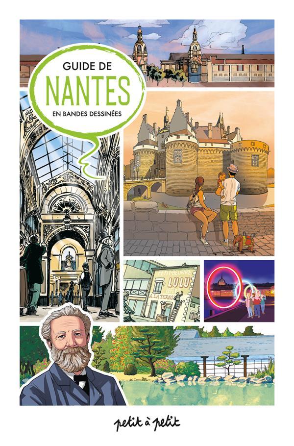 guide de Nantes en bandes dessinées