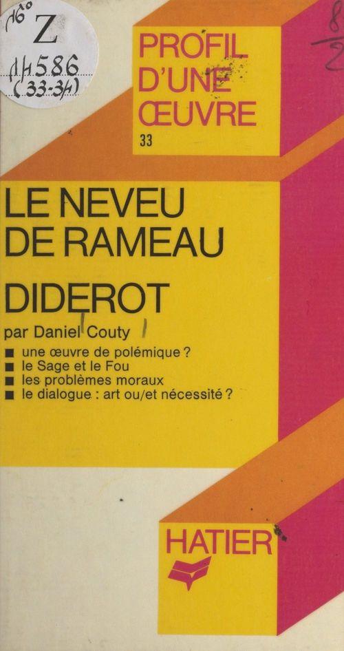 Le neveu de Rameau, Diderot