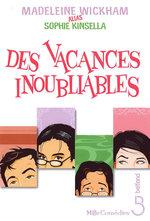 Vente Livre Numérique : Des vacances inoubliables  - Sophie Kinsella - Madeleine Wickham