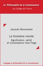 Vente EBooks : Le troisième monde  - Jacques BOUVERESSE