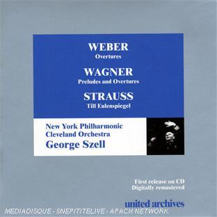 weber : ouvertures - wagner : préludes & ouvertures - strauss : till l'espiègle