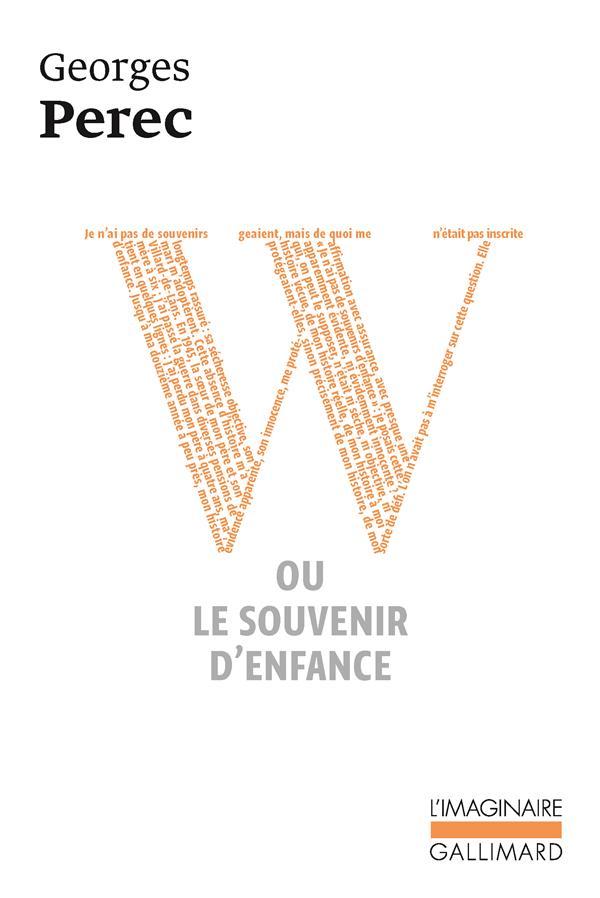W Ou Le Souvenir D'Enfance