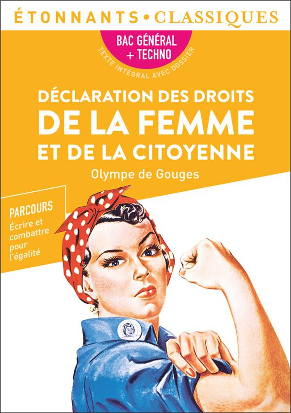 déclaration des droits de la femme et de la citoyenne ; 1re ; programme nouveau bac 2022