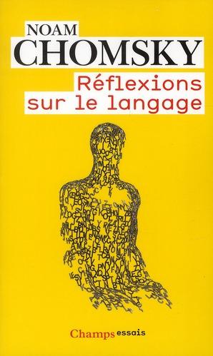 Reflexions sur le langage (nc)