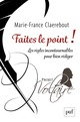 Faites le point !  - Marie-France Claerebout