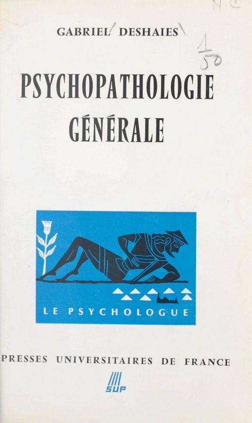 Psychopathologie générale