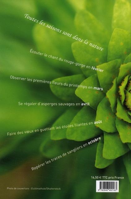 L'almanach de la nature ; la nature au fil des saisons