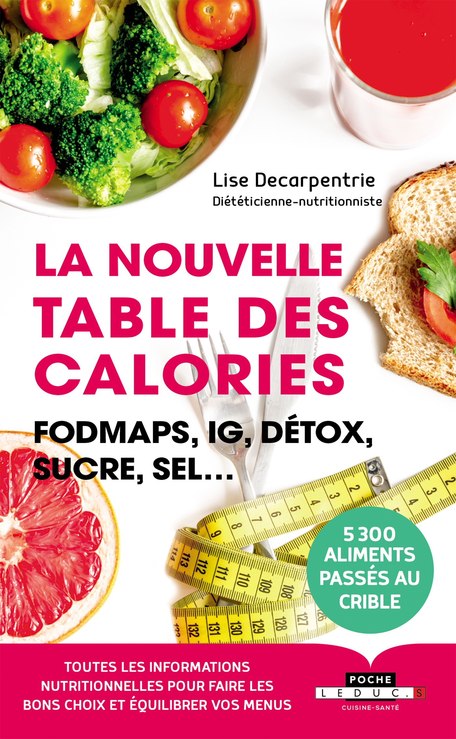 La nouvelle table des calories