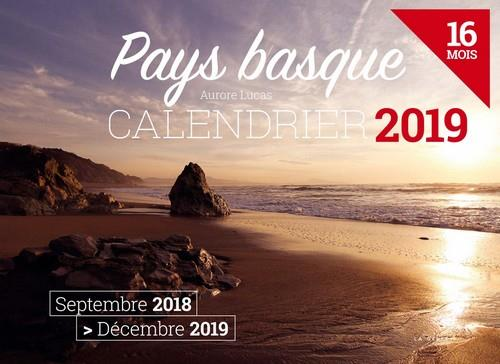 Calendrier ; Pays basque (édition 2019)