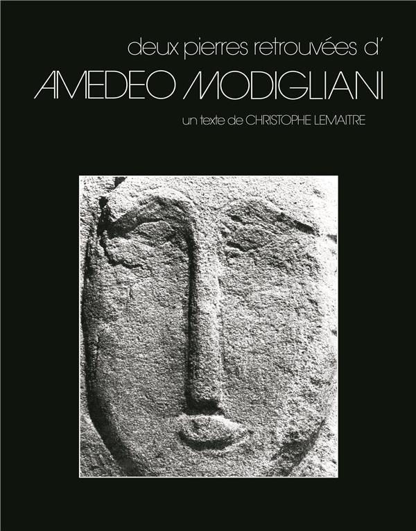 Deux pierres retrouvées d'Amedeo Modigliani