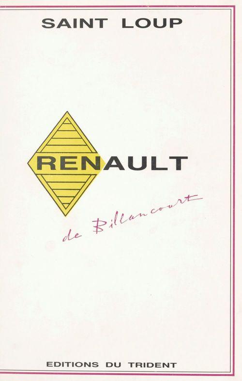 Renault de Billancourt