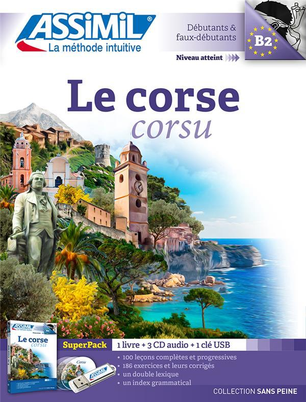 LE CORSE  -  CORSU  -  B2  -  SUPERPACK