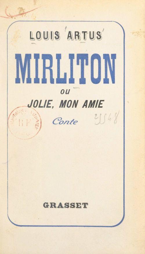 Mirliton  - Louis Artus