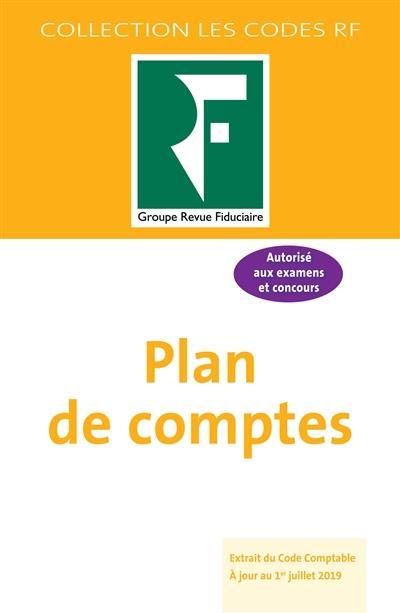 plan de comptes (édition 2019)