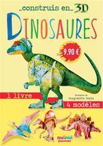 Construis en 3D ; dinosaures