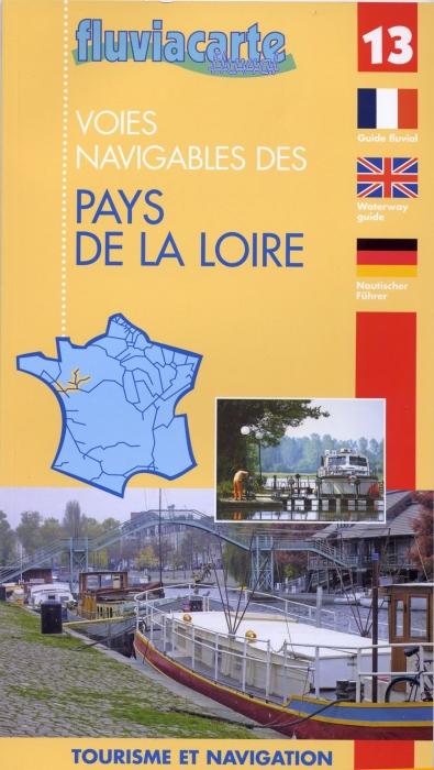 FLUVIACARTE N.13 ; voies navigables des pays de la Loire