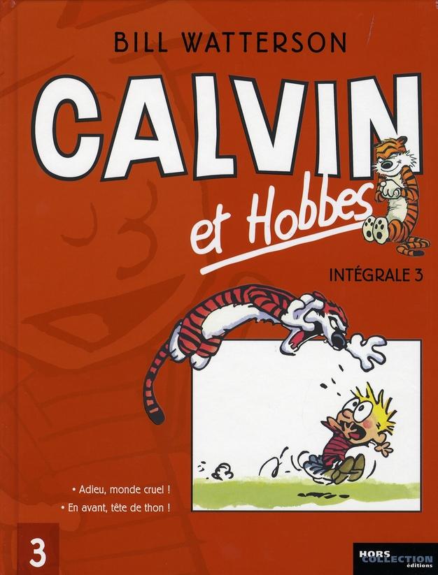 Calvin et Hobbes ; Intégrale vol.3 ; t.1 et t.2