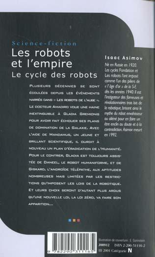 Le cycle des robots T.6 ; les robots et l'empire