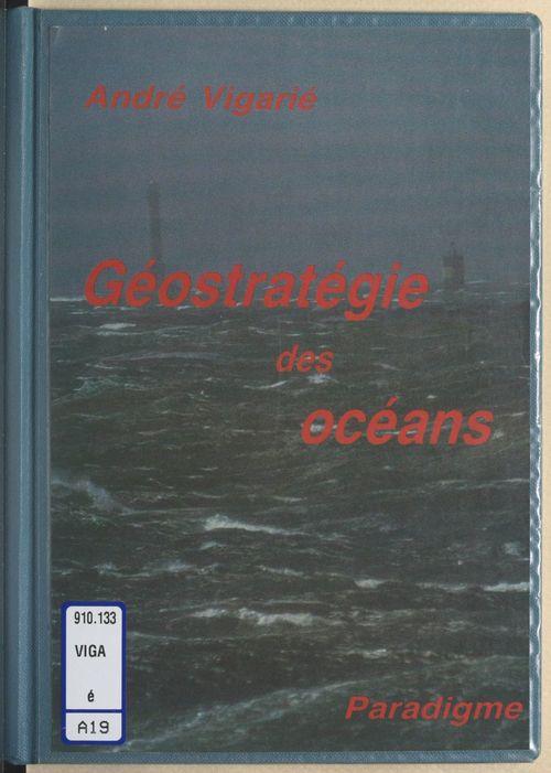 Économie maritime et géostratégie des océans