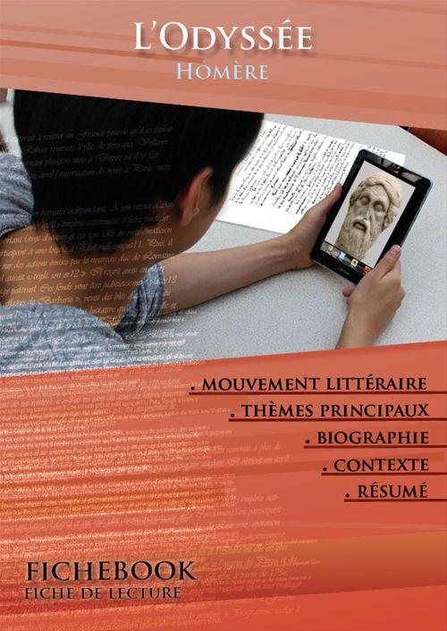 Fiche de lecture L'Odyssée - Résumé détaillé et analyse littéraire de référence