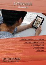 Vente Livre Numérique : Fiche de lecture L'Odyssée - Résumé détaillé et analyse littéraire de référence  - Homère