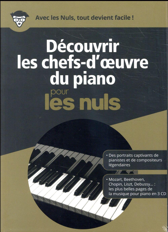 découvrir les chefs d'oeuvre du piano pour les nuls